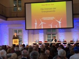 Prof. Hans-Werner Sinn, Präsident des ifo-Instituts für Wirtschaftsforschung (Foto: R. Ebelin)