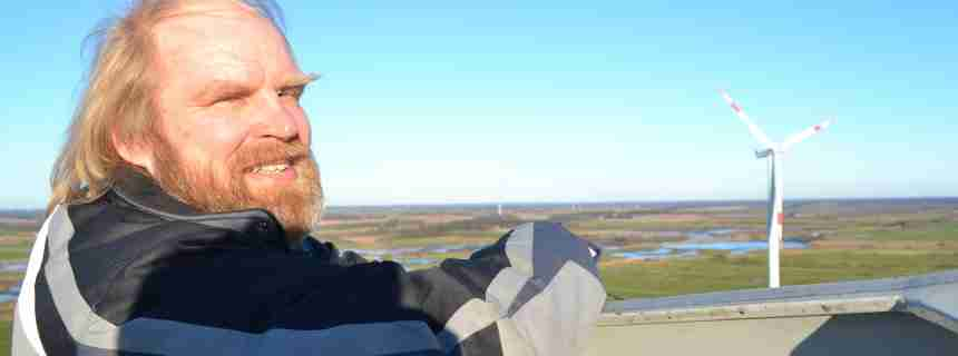 Schleswig-Holstein: Wie Windkraft das 113-Seelen-Dorf Ellhöft reich machte