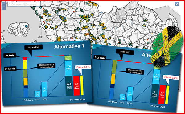 Wie viel Fläche muss Schleswig-Holstein für eine vernünftige Energiewende bereitstellen?