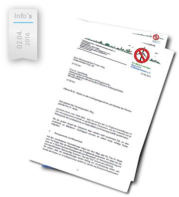 Brief an Albig und Nestle